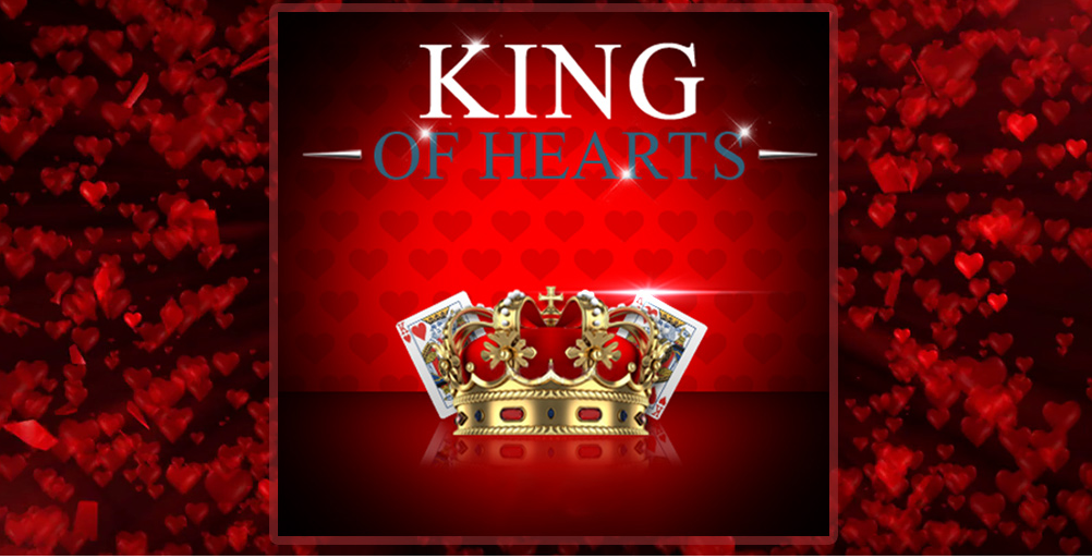 Bets10'de King of Hearts ile 50.000 Euro Ödül